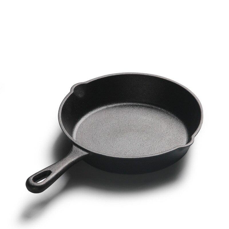Cast Iron Pot Small Mini Non-coated  Frying Pan 14cm16cm20cm Pan Non-stick Pot