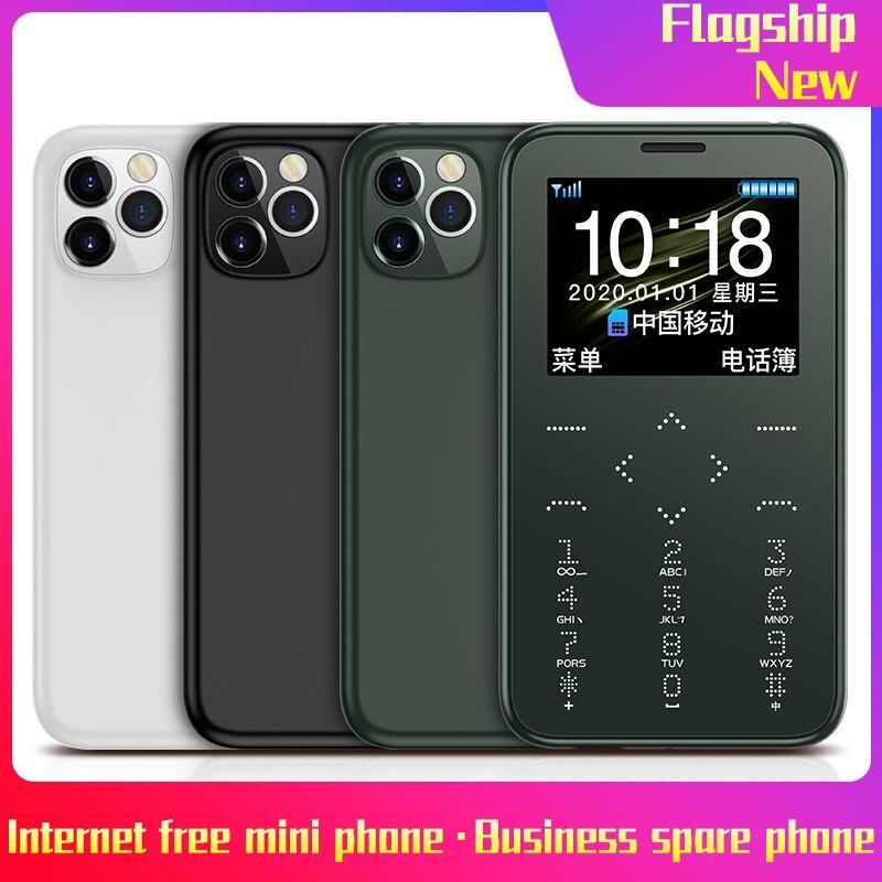 Новый SOYES/Suo/Ye S7 + карты мобильный телефон Личность Ультра-тонкий мини мобильный телефон анти-потерянный Bluetooth