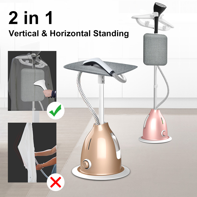 2000W 220V Professional Hanging Clothes Steamer 10 Gears Handheld Garment Steamer Steam Iron Ironing Machine For