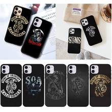Sons Of Anarchy TV Phone Case For iPhone 12 Mini 11 Pro XS Max X XR 7 8 Plus