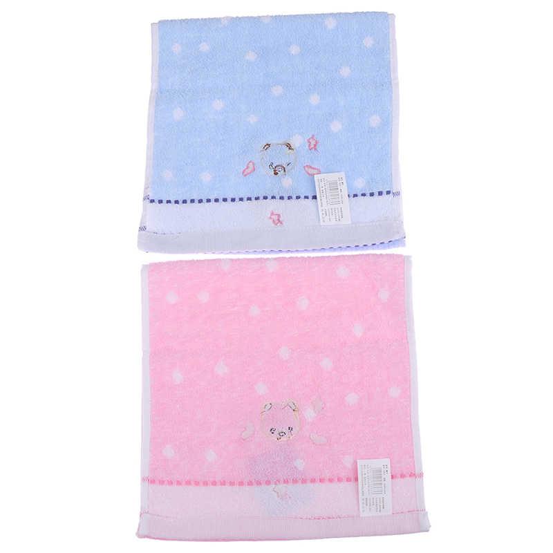 25*50cm toalla para bebé de algodón Oso de dibujos animados bebé pañuelo de tela niños paño de alimentación Toalla de alta calidad