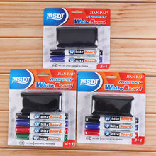 Whiteboard Pen Erasable Marker Security Oily-Based Marker Pen Whiteboard Eraser set school Office Stationery classroom supplies 24pcs blue magnetic whiteboard dry eraser chalkboard cleansers wiper for classroom office school supplies office accessories