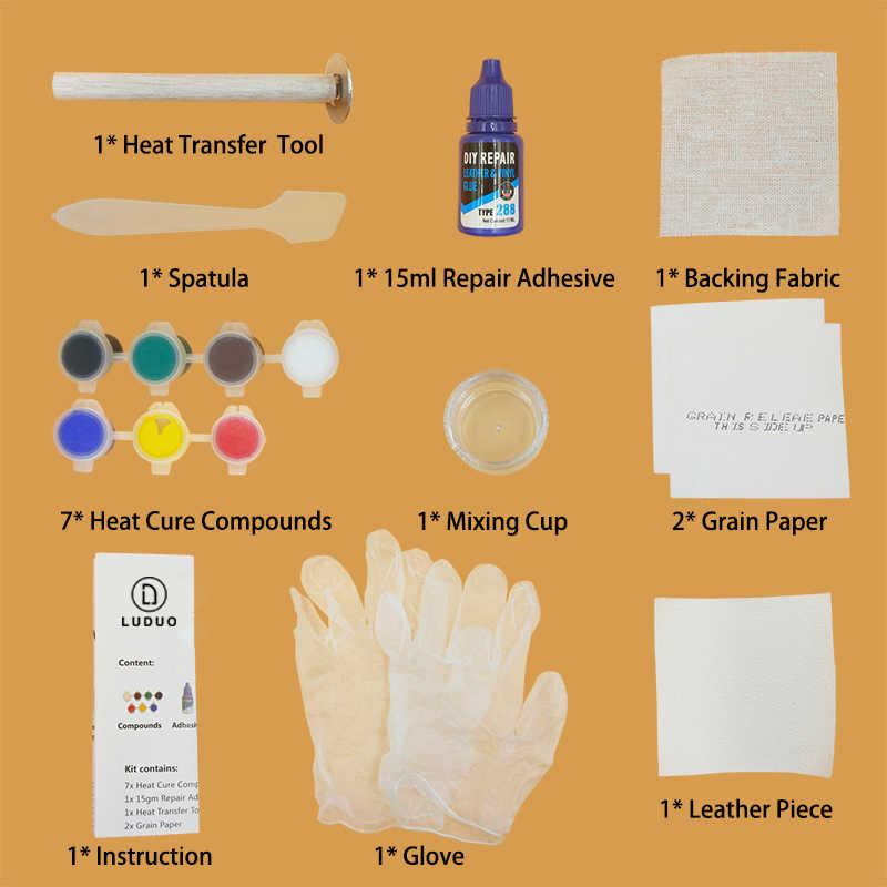 Luduo Vloeibare Leder Vinyl Reparatie Kit Restorer Meubels Auto Zetels Sofa Jas Purse Riem Schoenen Cleaner Skin Reparatie Opknappen