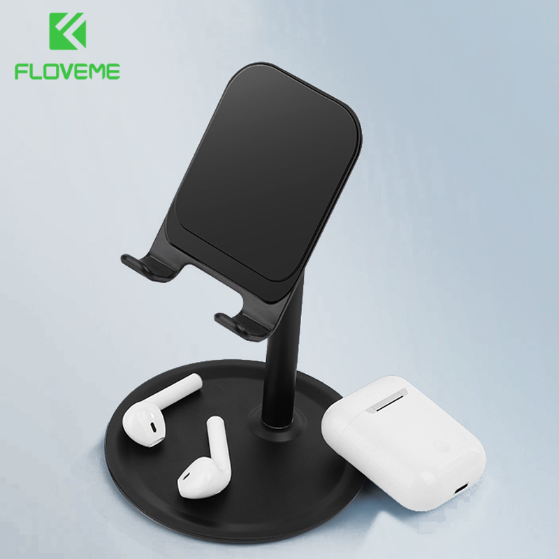 FLOVEME Adjustable Desktop Phone Holder For IPhone Universal Tablet Phone Stand For Xiaomi Mobile Phone Holder Stand Support