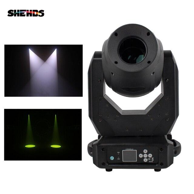 SHEHDS LED faisceau & Spot & Wash 150W 3in1 éclairage de tête mobile Disco & Ball & DJ & lumière de scène musique & couleur contrôle par DMX