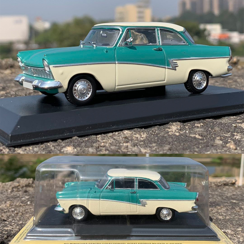 Special Price 1:43  American Classic Car Model 17m  Alloy Car Model  Long 10cm  Collection Model