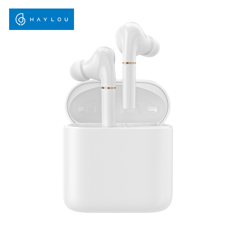 Haylou T19 Wireless Charging TWS  Bluetooth Headphones Smart Noise Cancelling APTX Infrared Sensor Touch Wireless Earphones