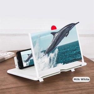 Image 3 - 최신 끌어 오기 Typer 휴대 전화 증폭기 3D 효과 고화질 대형 스크린 데스크 홀더 확대 영화 게임에 대 한 접는