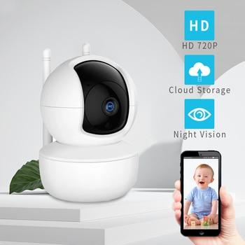 1MP IP Camera Security Camera WiFi Wireless CCTV Camera Surveillance IR Night Vision P2P Baby Monitor Pet Wifi Camera 720P недорого