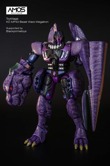 ToysMage Robot de Transformation TM01, Version KO MP 43 MP43, tyrannosaure, les bêtes, les dinosaures, guerriers, figurines, jouets, modèles