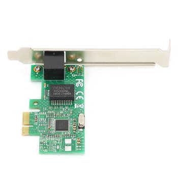 Gigabitowa karta sieciowa dla pojedynczego portu Intel I211 dla EsxiPXE bezdyskowe Routing PCI-E x1 Hot tanie i dobre opinie VBESTLIFE 10 100 1000 mbps Wewnętrzny Przewodowy 1000 m ethernet Serwer Pci express Gigabit ethernet Gigabit Network Card