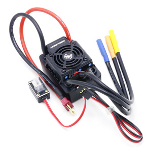 Image 3 - Hobbywing CONTROLADOR DE VELOCIDAD Hobbywing EZRUN, impermeable, WP SC8 120A, sin escobillas, enchufe ESC T