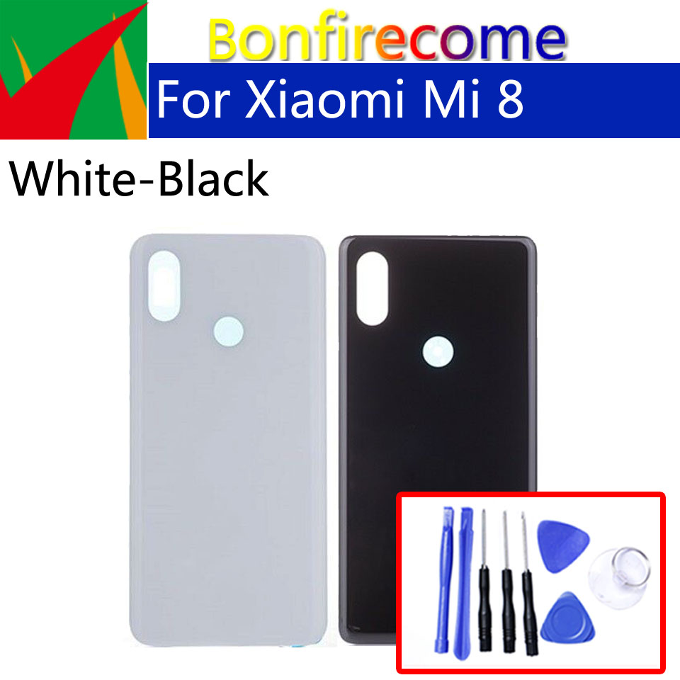 3D Glass <font><b>Battery</b></font> Back <font><b>Cover</b></font> For <font><b>Xiaomi</b></font> Mi8 <font><b>Mi</b></font> <font><b>8</b></font> M8 Back <font><b>Battery</b></font> Door Rear Housing <font><b>Cover</b></font> Case Chassis Shell replacement image