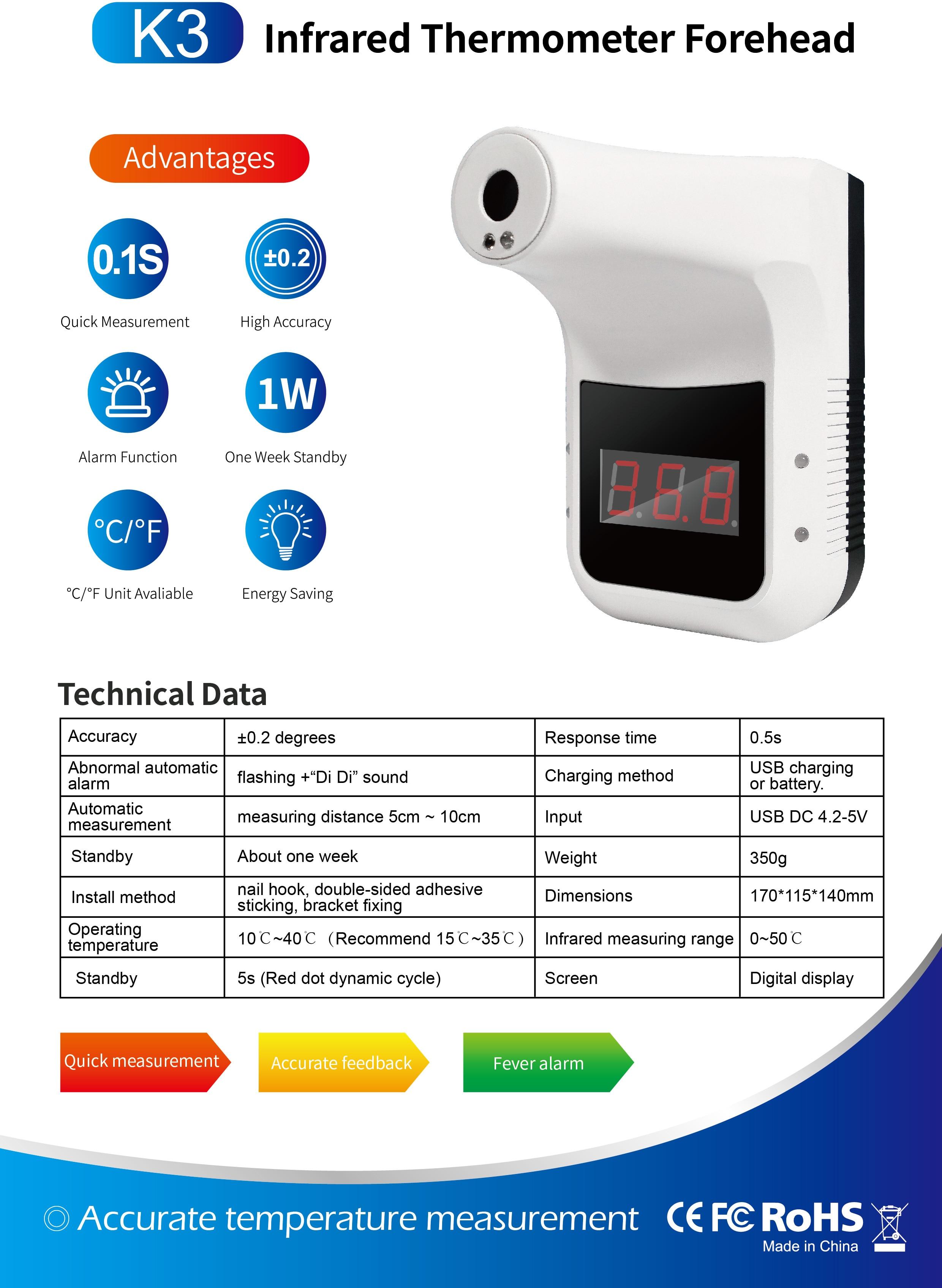 Hefccc32379b54aa09c4c28095c8f9308b - ที่วัดไข้ K3 พร้อมขาตั้ง ติดกำแพง ผนัง เสา ร้านค้า สำนักงาน เครื่องวัดอุณหภูมิ อินฟราเรด มีแอพฯ LCD Digital Smart Termometor