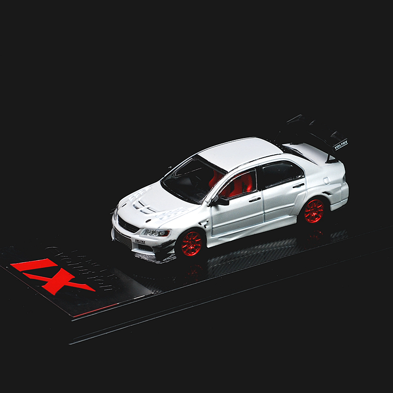 CM Model 1:64 Mitsubishi Lancer Evolution IX Pearl White Diecast Model Car