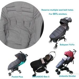 Image 5 - Evrensel bebek arabası aksesuarları su geçirmez Sleepsacks uyku tulumu sıcak ayak çorap Babyzen YOYO 2 YOYO2 arabası