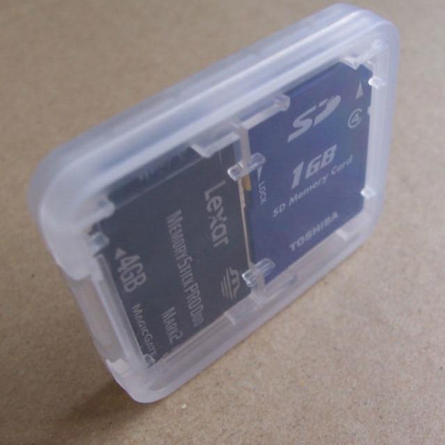 1 PC Hard Micro SD SDHC TF MS Memory Card Storage Box Protector Holder Hard Case Memory Card Storage Box 3