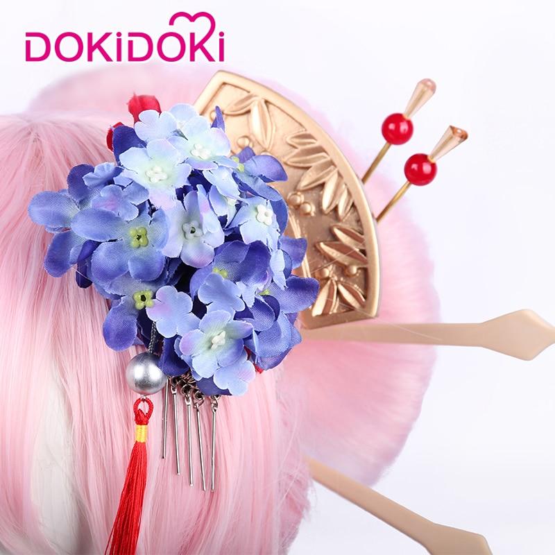 DokiDoki Honkai Impact Yae Sakura Cosplay Blooming Maiko Costume Women Kinmono Honkai Impact 3 Cosplay Costume Halloween in Game Costumes from Novelty Special Use