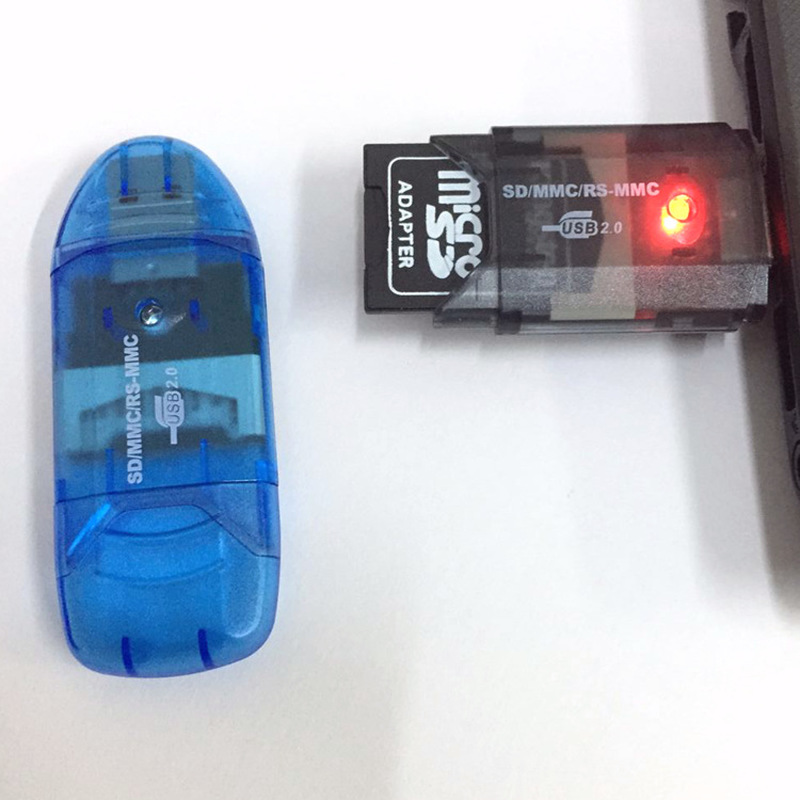 1PC None High Speed Mini Micro SD T Flash TF SDHC USB 2.0 Memory Card Reader Adapter|Картридеры|   | АлиЭкспресс