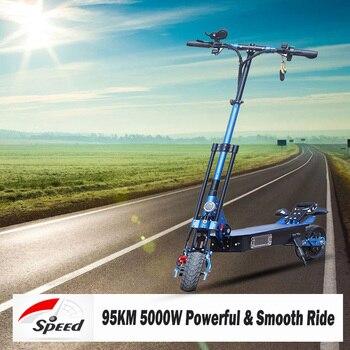 Patinete eléctrico 5000W E, bicicleta eléctrica Samsung, batería de litio, monopatín eléctrico Adulto