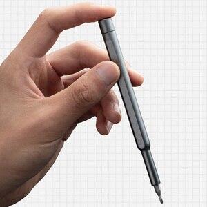 Image 5 - 100% Original Xiaomi Mijia Wiha 매일 사용 스크류 키트 24 정밀 마그네틱 비트 알루미늄 박스 스크류 드라이버 xiaomi smart home Kit
