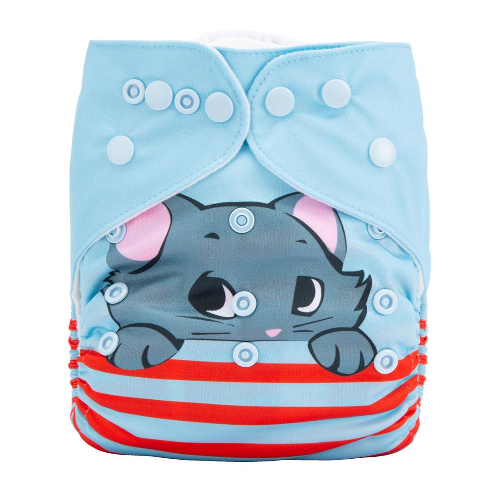 Washable Reusable Biodegradable For Pants Baby Breath Cloth Diapers Eco Friendly Reusable Nappies DY55