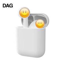 DAG i17 TWS Wireless Earphones Bluetooth 5.0 Touch Control Automatic pop up spor