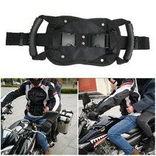 Cinturón de seguridad de motocicleta con mango de pasajero, cinturón de seguridad Universal para ATV, SUV, moto, nieve, vehículo eléctrico