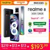"realme 8 Global Version 6GB RAM 128GB ROM 30W Charge Helio G95 6.4"" AMOLED Display 64MP Camera 5000mAh Battery NFC 1"