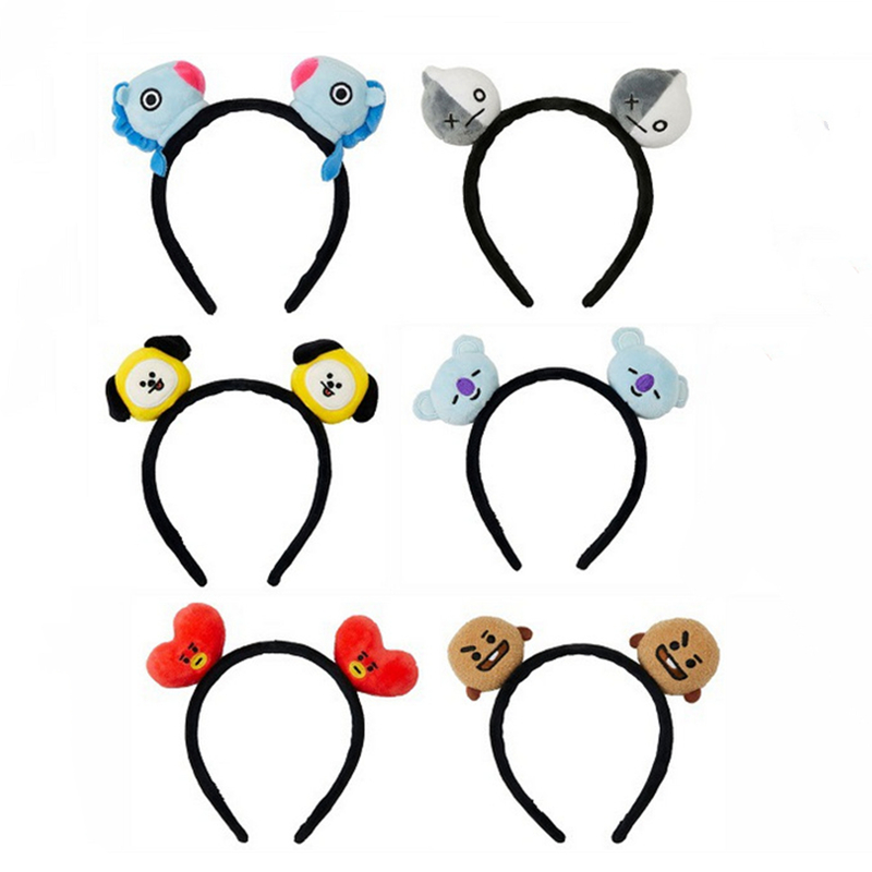 Shiny Cute Pora Hairband Christmas Hair Accessories Halloween Headband Mickey Ears Minnie Ears Concert Headband
