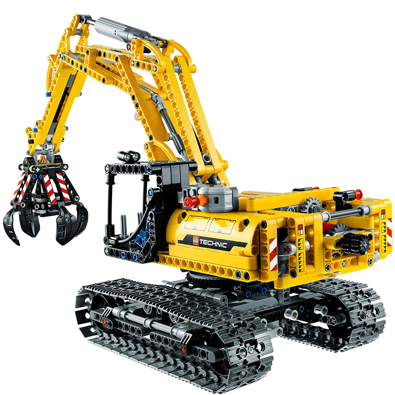 New Mechanics Series Toys Excavator Compatible <font><b>Legoingly</b></font> Mechanics <font><b>42006</b></font> Building Blocks Toys for Children Birthday Gift image