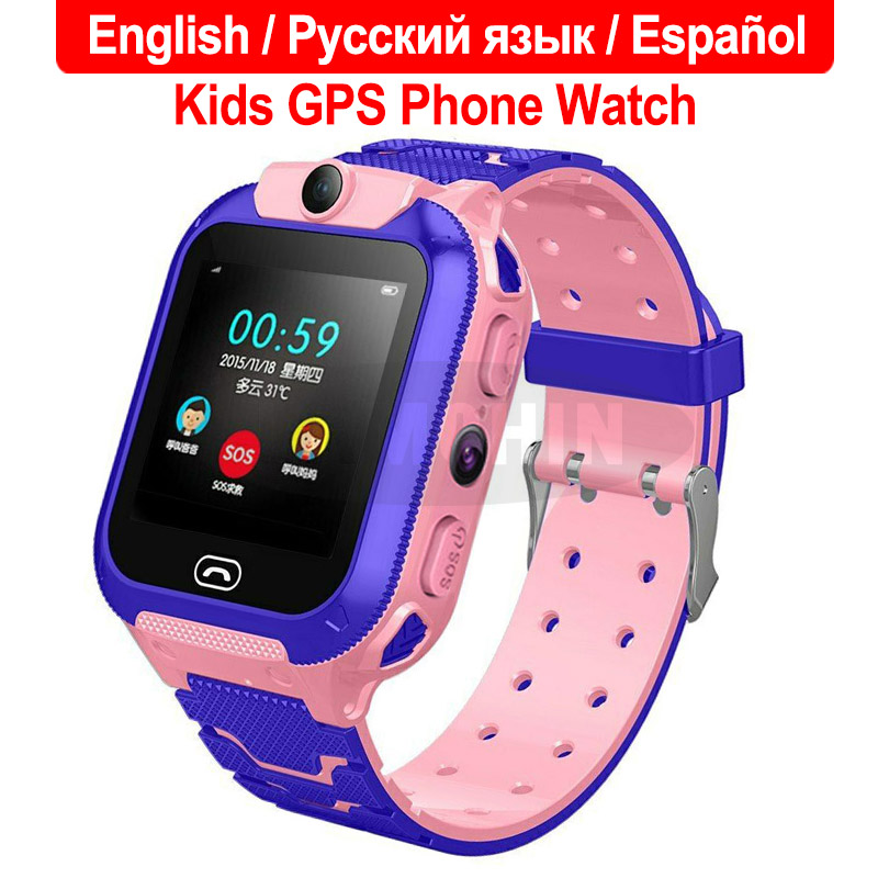 2019 New Waterproof Q12 Smart Watch Multifunction Children Digital Wristwatch Baby Watch Phone For IOS Android Kids Toy Gift