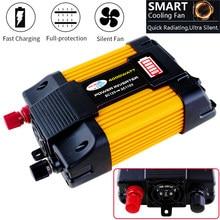 4000W/6000W Sinus Welle Gelb Auto Power Inverter 12 V 110 V 220 V DC zu AC auto Converter Solar Inverter 12 v 220 v 110 v