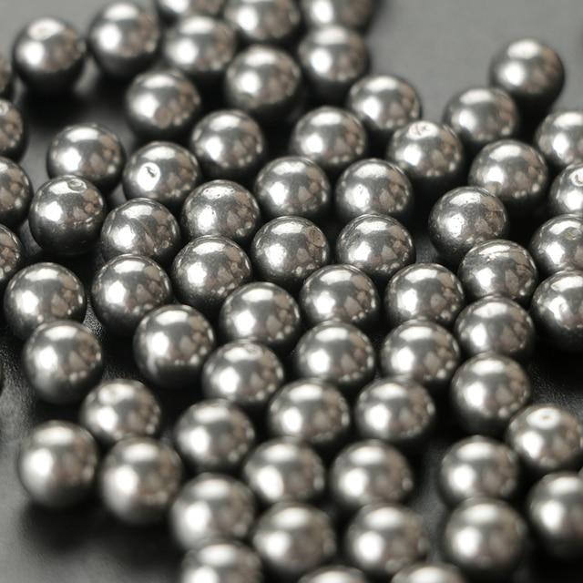 Ru stock 500pcs steel balls 8mm slingshot balls for hunting shooting practice outdoor sports 3