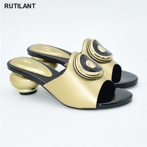 Image 5 - 결혼식을위한 새로운 이탈리아어 하이힐 가을 구두 2020 섹시한 플랫폼 펌프 여성의 이탈리아어 고품질의 아프리카의 결혼식 신발