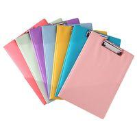 A4 Waterproof Clipboard Writing Pad File Folder Document Holder School Supply C90F