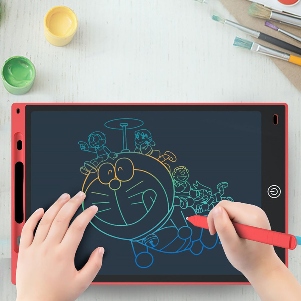 Графический планшет электроники планшет для рисования Смарт ЖК планшет для письма стираемая чертежная доска 8,5 дюймов светильник Pad ручка для письма от руки Юный художник      АлиЭкспресс