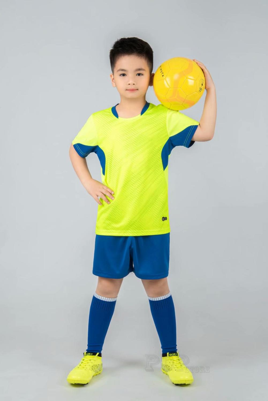 Kids football Uniforms boys girl soccer Jerseys Custom child Soccer Jersey Set Sportswear t-shirt sports suit new style 11