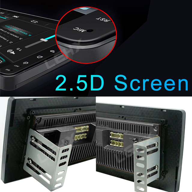 1/9/10 Cal 2 Din Android 9.0 radio samochodowe multimedialny odtwarzacz wideo uniwersalne auto Stereo dla volkswagena Nissan Hyundai Kia toyota