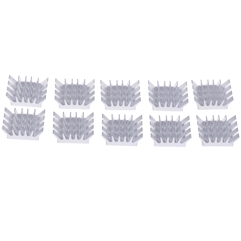 10pcs Aluminum Heatsink Radiator Computer Cooler Radiator Heat Sink For Motherboard DDR VGA RAM Memory IC Chipset Cooler