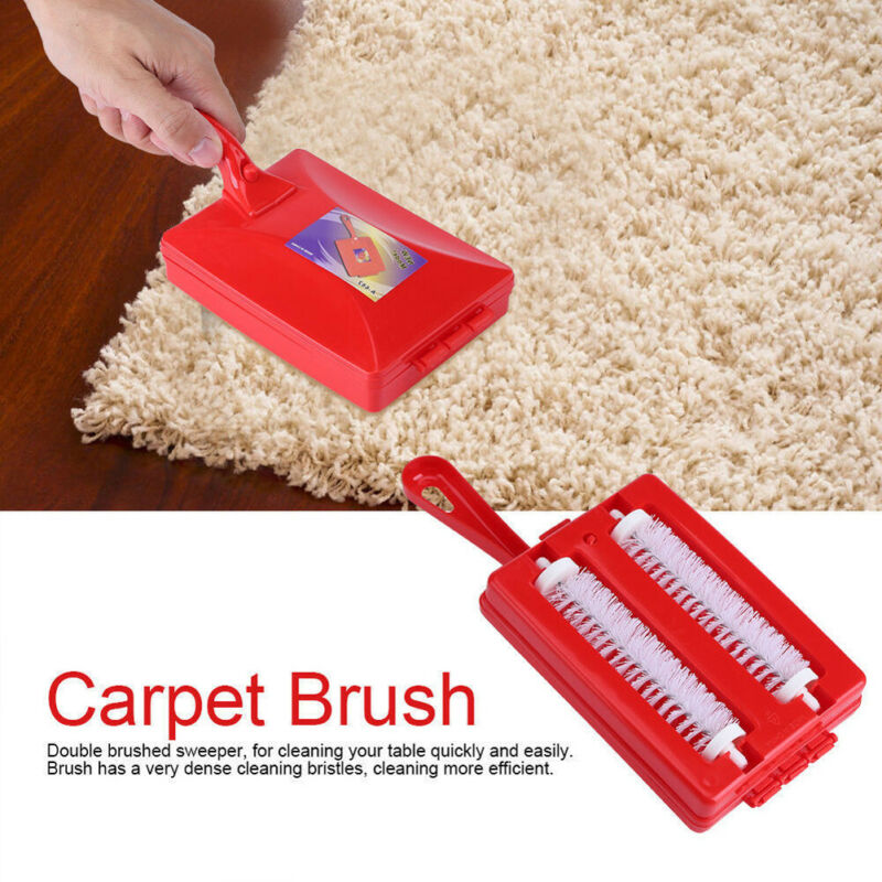 Hand Held Carpet Brush Crumb Brush Table Sweeper Dirt Home Kitchen Cleaner Accessories image
