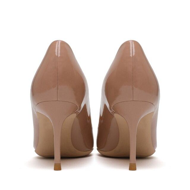 Фото большой размеры дамские модные туфли лодочки на тонких высоких цена