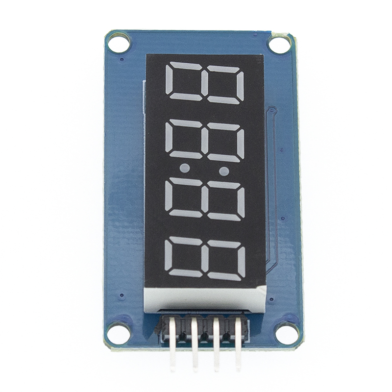 Image 3 - New 100pcs 4 Bits TM1637 Red Digital Tube LED Display Module & Clock LED-in Integrated Circuits from Electronic Components & Supplies