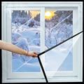 Fenster Wärmedämmung film Warme film in winter Selbst-Adhesive schleimhaut schutz Energie transparent Weichen glas film Für fenster