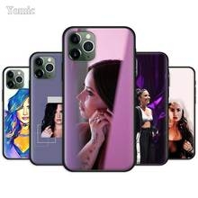 Demi Lovato Fitted Case for Apple iPhone 11 Pro 7 8 6 6S Plus X XR XS MAX 5 5S SE Black Silicone Soft Phone Cover yinuoda demi lovato customer high quality phone case for apple iphone 8 7 6 6s plus x xs max 5 5s se xr mobile cover