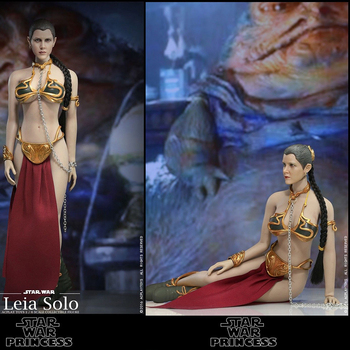 In stock  1/6 scale head sculpt of Star Wars princess Leia Organa for12 TBLeague seamless body