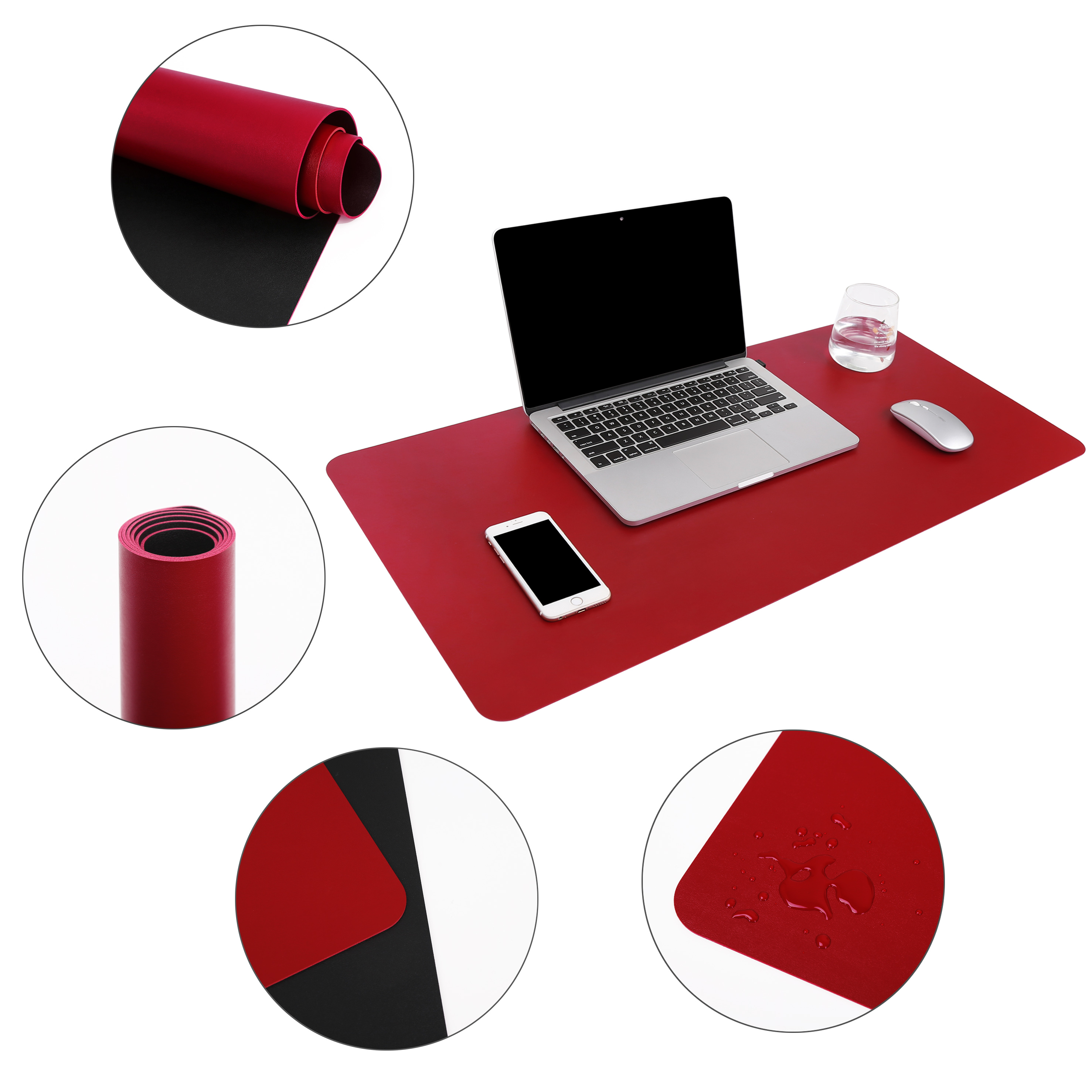 Mat for computer desk blotter pad writing pads on top of desks,mouse extra large