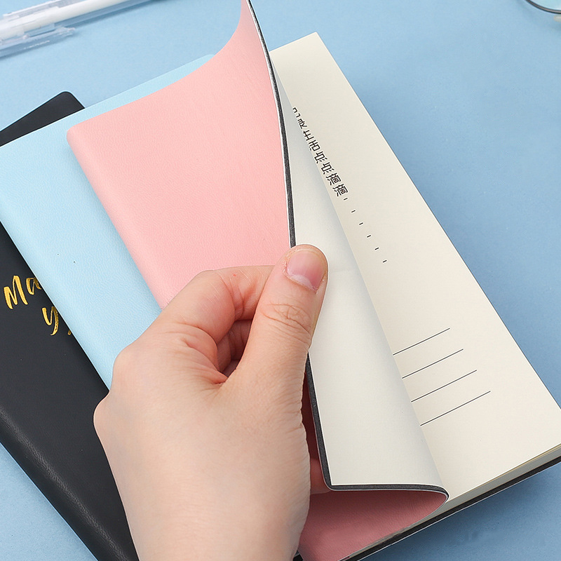 Daily Planner Check-list Notebook Time Manager Portable Memo Pad, 9.8x17.8 Cm 200 Pages 80 GSM, Undated, Agenda Planner, Journal