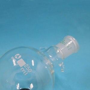 Image 5 - 100ml a 2000ml di Vetro Lab Cromatografia Solvente Serbatoio Palla 24/29 Giunto Standard, cromatografia su colonna di immagazzinaggio palla