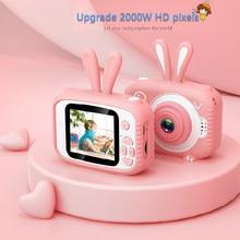 X3 mini câmera ips infantil de 2.0 '', câmera fotográfica de 20mp com tela hd 1080p, brinquedo com 600mah bateria de lítio presente de natal,